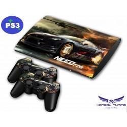 PS3 - Konzolra és kontrollerre matrica - NFS