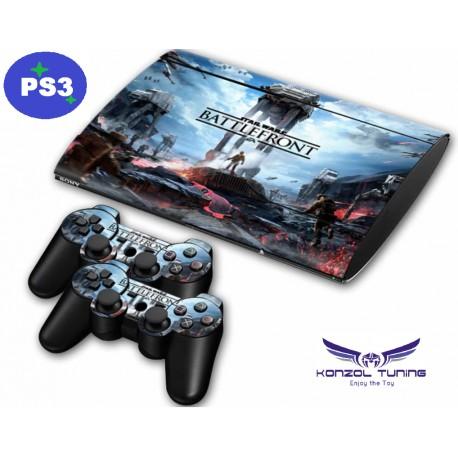 PS3 - Konzolra és kontrollerre matrica - S W