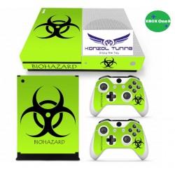 XBOX ONE S - Konzolra és kontrollerre matrica - Biohazard