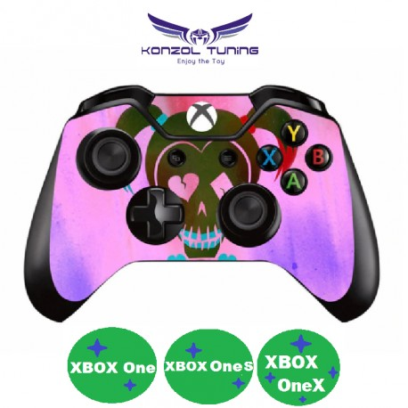 XBOX ONE  sorozat - Kontrollerre matrica - Harley K -pink