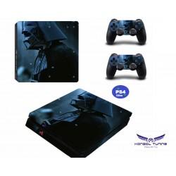 PS4 Slim - Konzolra és kontrollerre matrica - D.W.