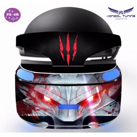 PS4 VR - VR szemüvegre matrica - Skull
