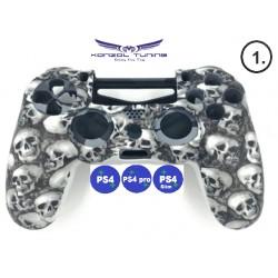 PS4 sorozat - Kontrollerre szilikon Skull
