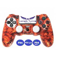 PS4 sorozat - Kontrollerhez szilikon - Burn