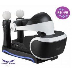 PS4 - VR -- Movie  motion  töltő állomás és VR szemüveg tartó -ledes