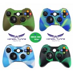 Xbox 360 - Kontroller szilikon borítás - terepmintás