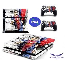 PS4 - Konzolra és kontrollerre - Matrica - L.M.