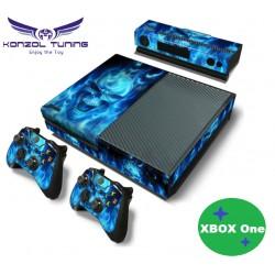 PS4 Pro Skin - Konzolra és kontrollerre -Skull