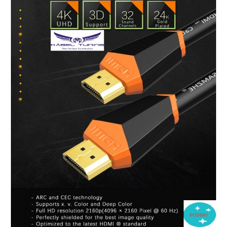 HDMI KÁBEL - 2.0  High-tech