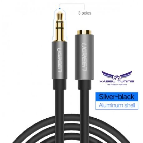 HIFI - AUDIO KÁBEL - 3,5 audio kábel, M/FM fejhallgató hosszabbító -3 méter