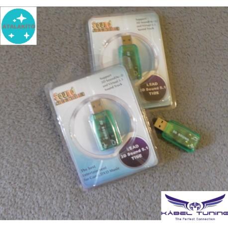 HIFI - AUDIO átalakító - 3,5 jack - USB