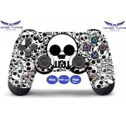 PS4 sorozat -Kontrollerhez matrica - White Skul