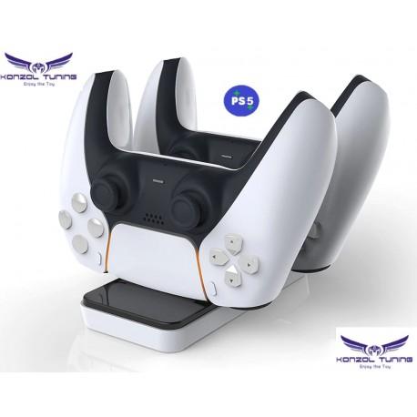 PS5 - Kontrollerhez asztali dupla töltő - Magnetic