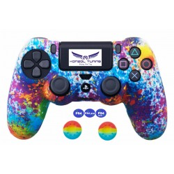 PS4 sorozat - Kontrollerre szilikon borítás - Rainbow