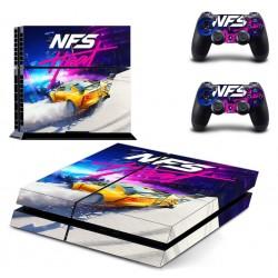 PS4 - Konzolra és kontrollerre - Matrica - NFS