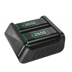 XBOX ONE SERIES - Kontrollerhez tölthető akku csomag és töltő - 2650mAh