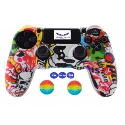 PS4 sorozat - Kontroller szilikon és joystick gomb - NFS