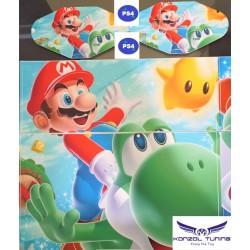 PS4 - Konzolra és kontrollerre - Matrica - Mario