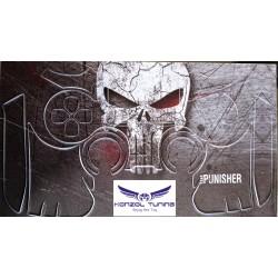 PS4 sorozat - Kontroller matrica - Skull -szürke