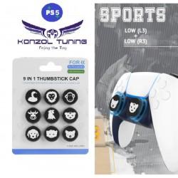 PS5 - Kontroller joystick sapka szett