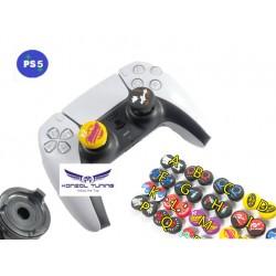 PS5 - Kontrollerhez akció gomb emelő szett - mintás