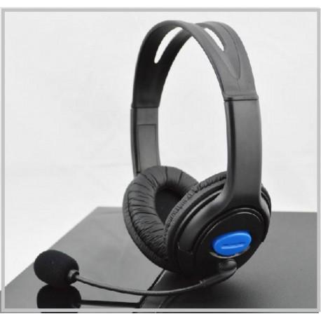 Gaming headset - Cool -fekete-kék