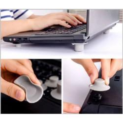 Laptop -Cooling Pad -szürke