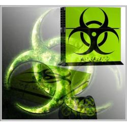 PS4 - Konzolra és kontrollerre - Matrica - Biohazard