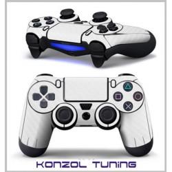 PS4 sorozathoz - Kontoller matrica - Rohamosztagos -fehér carbon
