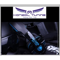 Gaming Headset  -Fejhallgató - SADES - Stereo 7.1 surround USB