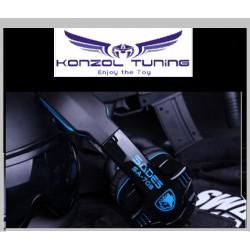 Gaming Headset  -Fejhallgató - SADES - Stereo 7.1 surround USB