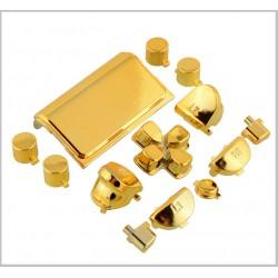 PS4 sorozat- Kontrollerhez gombok metál arany színben