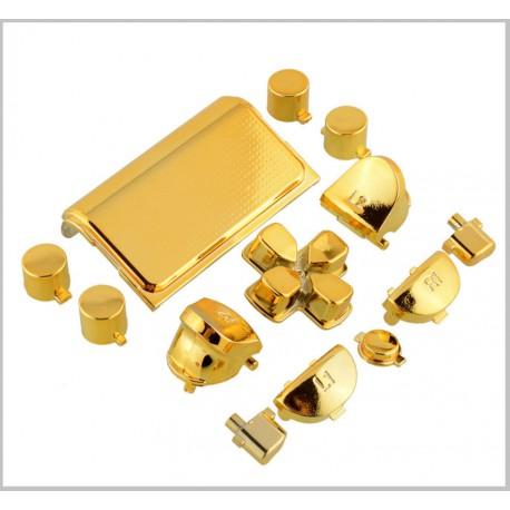 Kontroller gombok PS4-hez metál arany