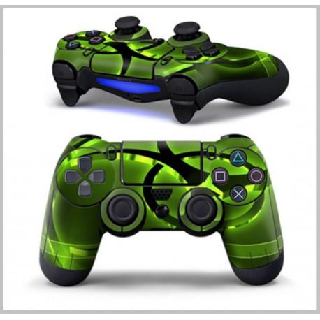 Kontoller fólia PS4-hez - Biohazard - Neon