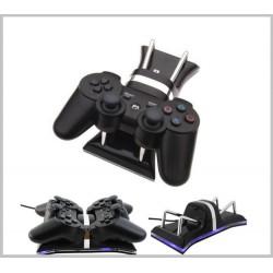 PS3 - Kontrollerhez  dupla töltő állvány