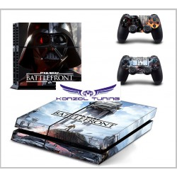PS4  Skin - Star Wars - Konzolra és kontrollerre -Star Wars -Battlefront