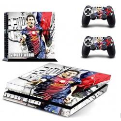 PS4 Skin - Konzolra és kontrollerre - Lionel Messi