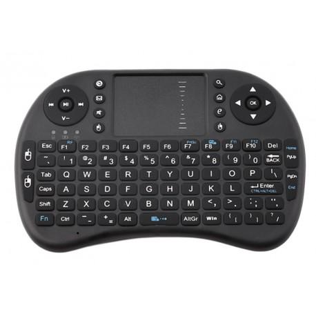 Mini Wireless-es 2.4G billentyűzet , touchpad-dal
