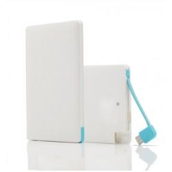 Powerbank Card - Slim powerbank Android és iPhone készülékekhez