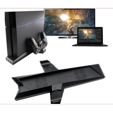 Hűtő - Konzol állvány és Dokkoló egyben PS 4-hez