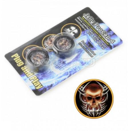 Kontoller Dualshock gomb szett Skull - PS4-hez