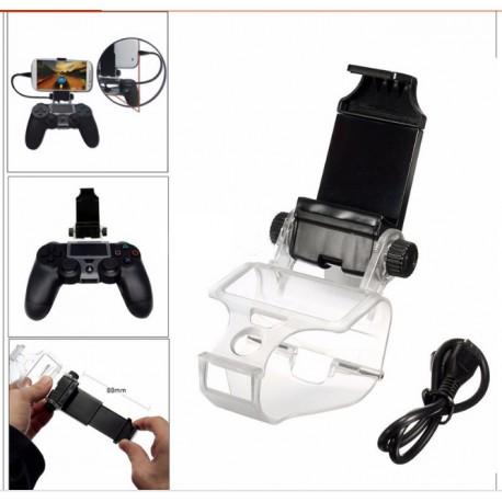 Kontrollerhez -PS4 - telefon tartó