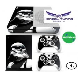 XBOX ONE - Konzolra és kontrollerre - Matrica- Sci-fi Desing  :)
