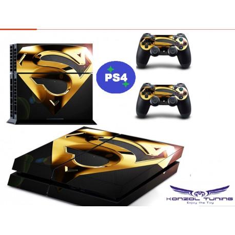 PS4 Skin - Konzolra és kontrollerre - S logo  Desing :)