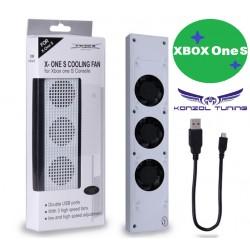 Hűtő -Turbó -Xbox One S konzolhoz -fehér
