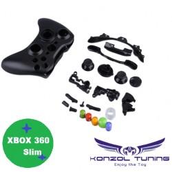 Xbox 360 - Kontroller burok - színes gombokkal