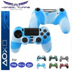PS4 sorozat - Kontrollerhez szilikon borítás - terep szín