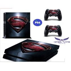 PS4 Skin - Konzolra és kontrollerre - S logo Desing :) - Black