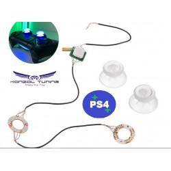 Kontroller gomb - led fénnyel - PS4 - Xbox  kontrollerhez
