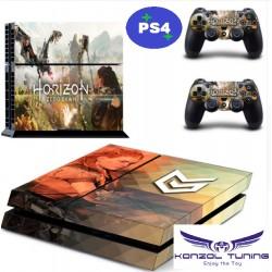 PS4 Skin - Konzolra és kontrollerre - Horizon Zero 2